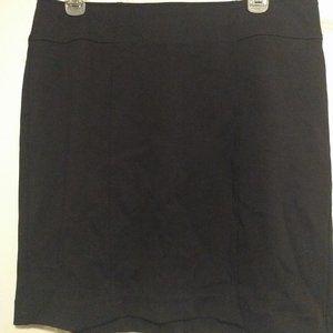 Loft Black Mini Skirt
